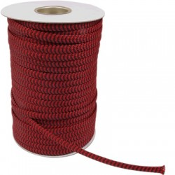 ELECAUDIO NR-10 Braided Sheath Extensible Nylon (PP) Red 07-15mm