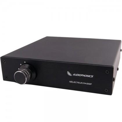 Audiophonics Sélecteur de sources passif Alps 1 vers 5 Noir