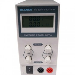BLANKO PS3003 Alimentation stabilisée réglable 0V/30V 3A