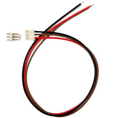 Connecteur PCB avec cordon et embase Mâle 3 voies (unité)