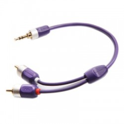 FURUTECH ADL ID-35R Jack 3.5mm to RCA Stereo Gold Plated 0.6m
