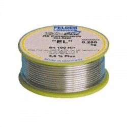 "Soldering tin - Felder Iso-Core ""EL"" Tin-free soldering without halogen 250g"