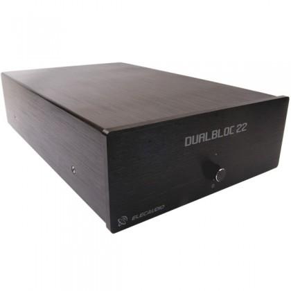 ELECAUDIO Dualbloc 22 Amplificateur de puissance Stéréo TA2022