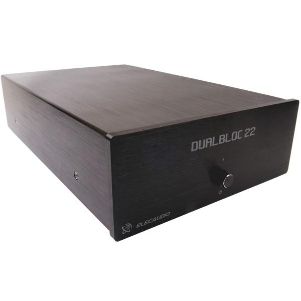 ELECAUDIO Dualbloc 22 Amplificateur de puissance Stéréo TA2022 1x 150W / 8 Ohm