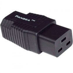 PANGEA Power adapter IEC C14 to C19 Gold Plated