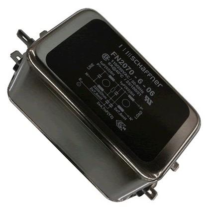 SCHAFFNER FN2070-6-06 - Filtre Secteur Anti-Parasites 230V 10A