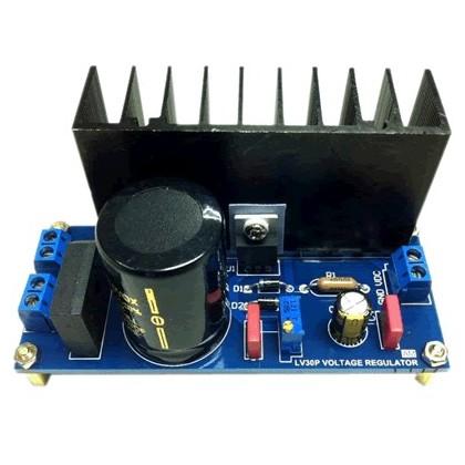 AMC - kit Alimentation régulée 1.5/50VDC 5A LM1084