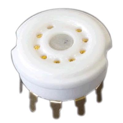 9A Gold Plated Ceramic Tube Holder 6N4 12AX7 12AU7 E88CC