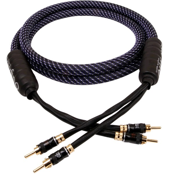 1877PHONO NOVA-SPK Bananas Speaker Cables Silver Plated PC-OCC Copper 3.31mm² 2.5m (Pair)