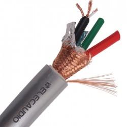 ELECAUDIO CS-361B Câble Secteur OCC PTFE 3x2.50mm² Ø 17mm