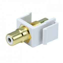 Keystone RCA-WH Embase RCA (Blanc)