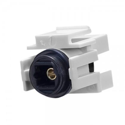 Keystone 72-320-WH Embase Optique Toslink