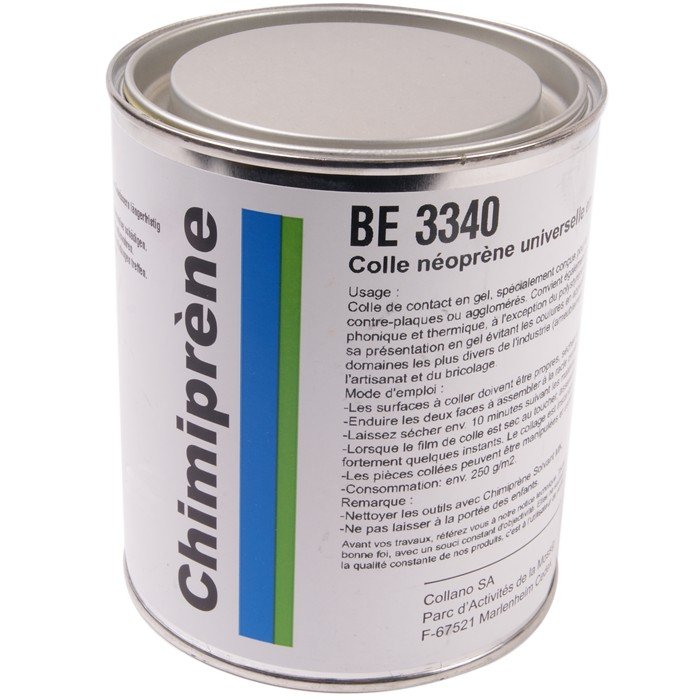 CHIMIPRENE BE 3340 Neoprene glue 750ml for fabrics