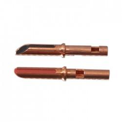 ELECAUDIO TE-B38NP Banana Plug Tellurium Copper (La paire)