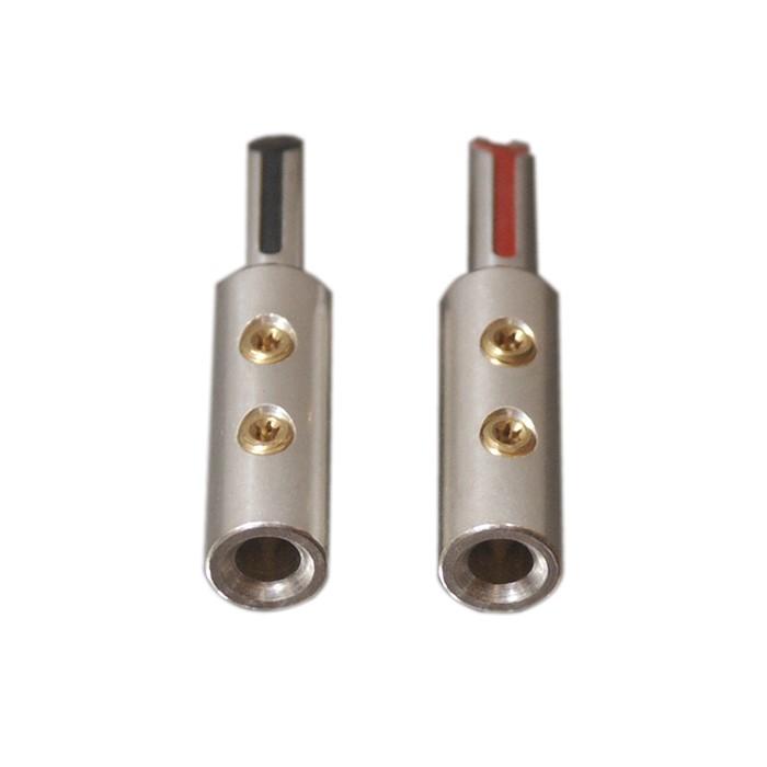 ELECAUDIO TE-BS50AG Banana Plug Tellurium Copper Ø 5mm (La paire)