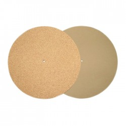 1877 PHONO EV-CORK Mat Support absorbant pour vinyles