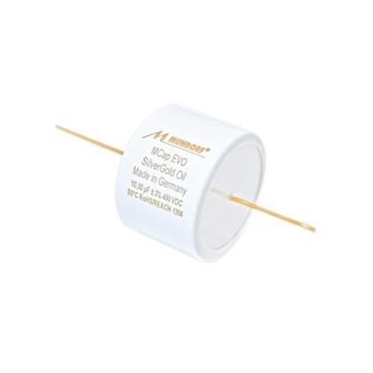 Mundorf MCAP EVO Silver Gold Oil Condensateur 450VDC 4.7µF