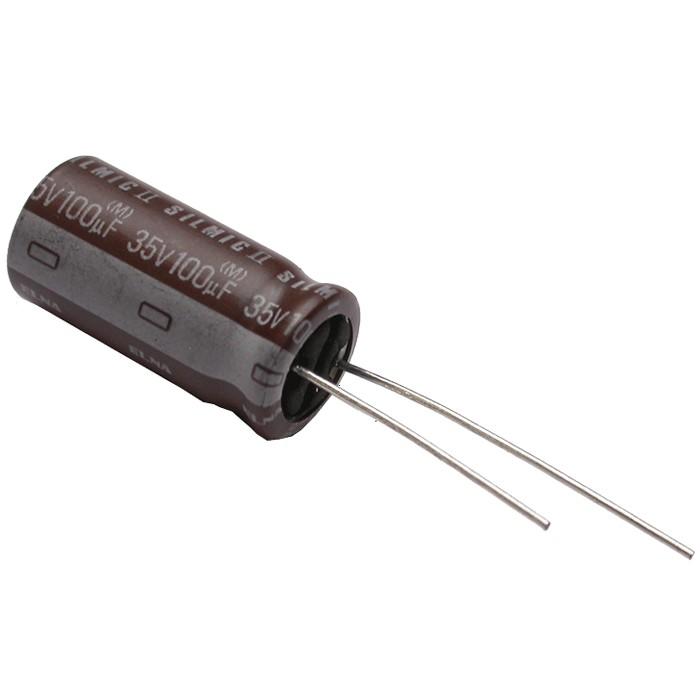 Elna Silmic II Audio Capacitor RFS aluminum 35V 100.0uF
