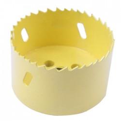 Cloche découpe Bois PVC Placo pour perceuse Ø80mm