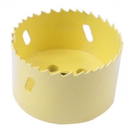 Cloche découpe Bois PVC Placo pour perceuse Ø 80mm