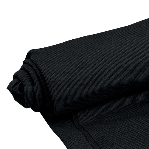 Fleece Fabric acoustic black 160x90cm