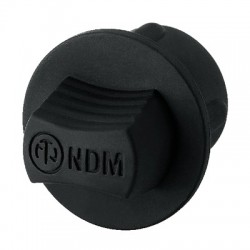 Neutrik NDM Cache anti-poussière Caoutchouc pour XLR mâle