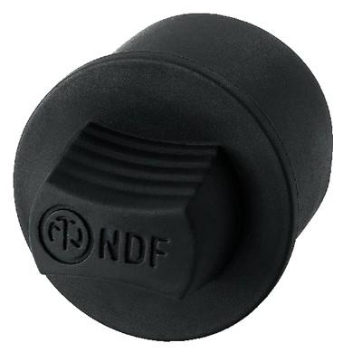 Neutrik NDF Cache anti-poussière Caoutchouc pour XLR femelle