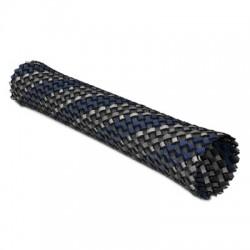 Viablue Gaine tressée Bleu 11-27mm