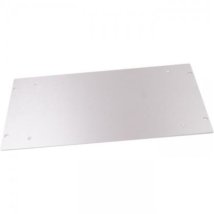 HIFI 2000 Facade aluminium 4mm Silver pour boitier Slimline 3U