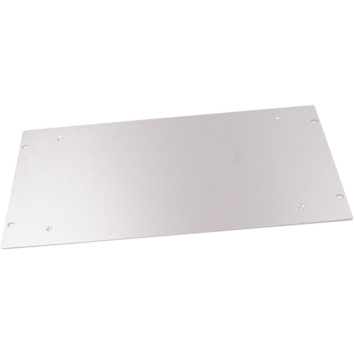 HIFI 2000 Aluminum facade 4mm Silver for case Slimline 3U