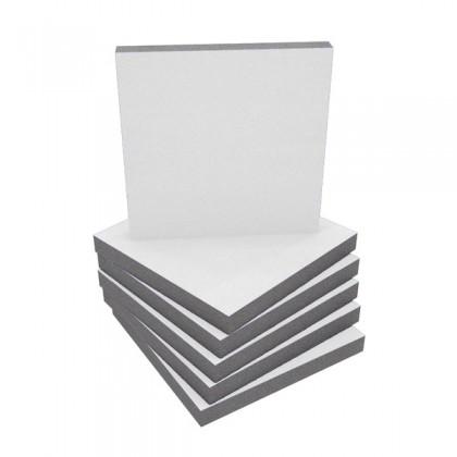 EQ Acoustics Panneau Mousse Absorbante White 50mm (Set x6)