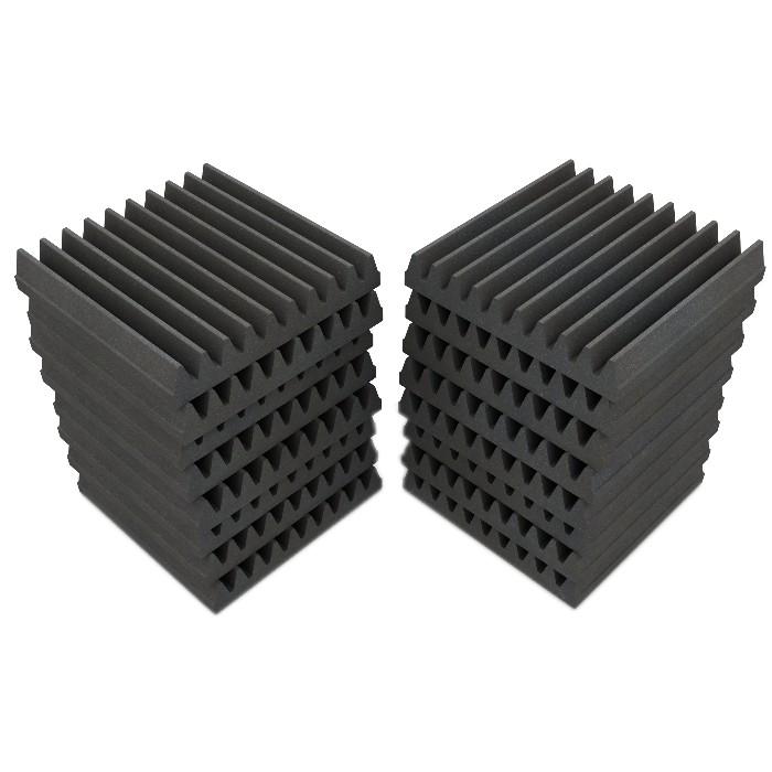 Acoustic Absorbing Foam Gray 50mm (Set x16)