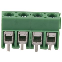 Phoenix 4-Way Screw Terminal Block
