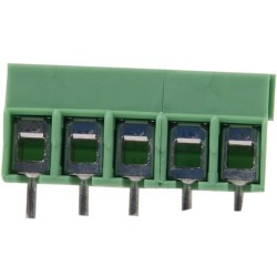 Phoenix 5-Way Screw Terminal Block