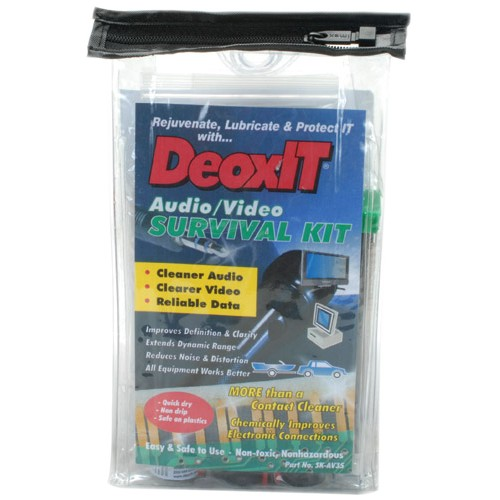 CAIG Deoxit SK-AV35 Cable Cleaner Kit