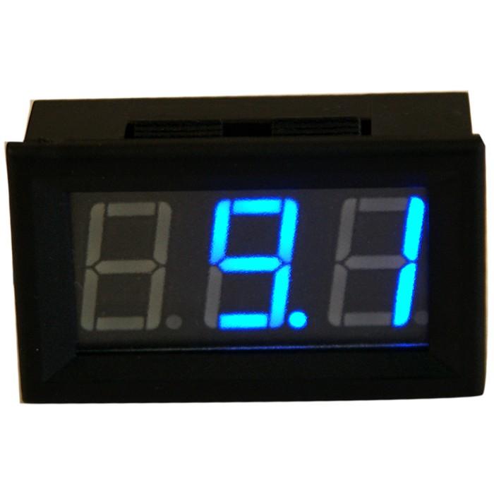 Afficheur de Voltage voltmètre à LED Bleu 4.5 / 30V