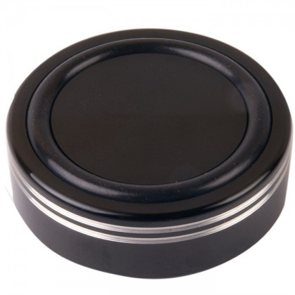 Pied en Aluminium Noir 44mm Filetage M4