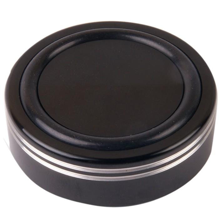 Pied en Aluminium Noir 44x17mm M4 (Unité)