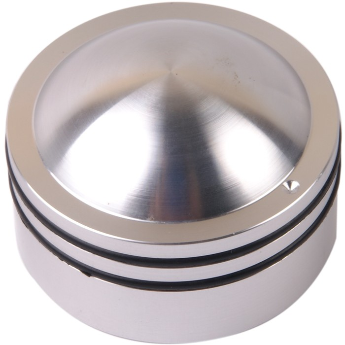 Button K014S Solid aluminum Silver 38 × 26mm for Ø6mm