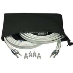ATOHM ZEF MAX SET Câbles d'enceintes Haute performance (La paire) 3m