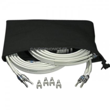 ATOHM ZEF MAX SET Câble d'enceintes Haute performance 3m (×2)