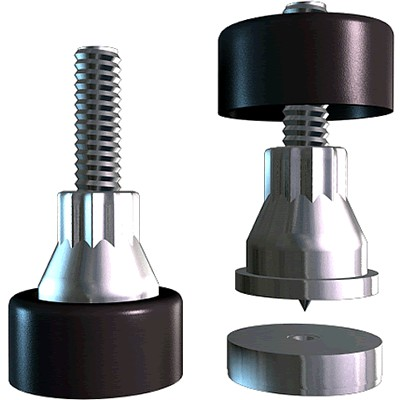 "SOUNDCARE STANDARD Spikes SuperSpikes 1/4"" (Set x4)"
