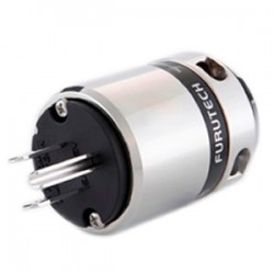 FURUTECH FI-48M(R) Connecteur US High-End Rhodium Ø20mm