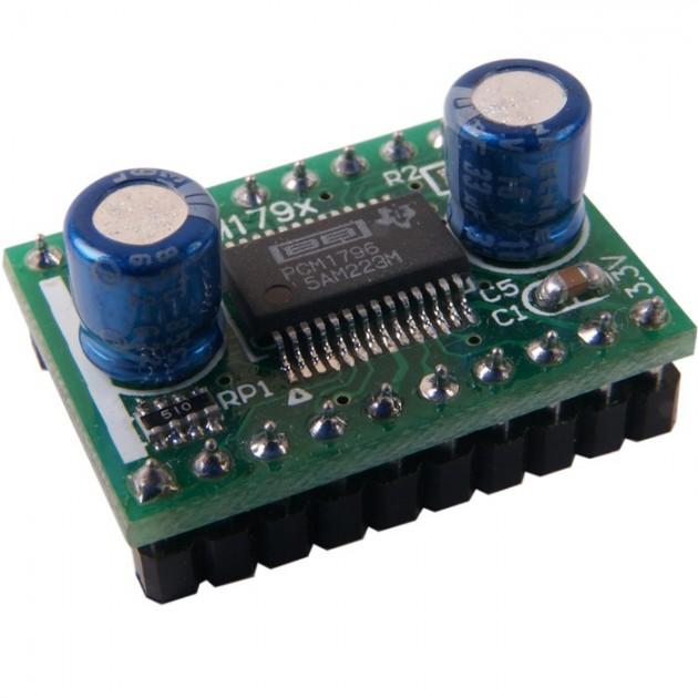 Burr-Brown PCM 1796 DAC 24bit / 192khz on PCB