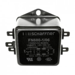 SCHAFFNER FN680-1-06 Sector Filter Anti-interference 230V 1A