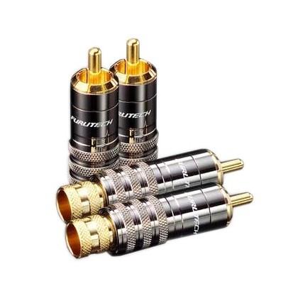 Furutech FP-104 Connecteurs RCA Gold Ø 8.3mm (×4)