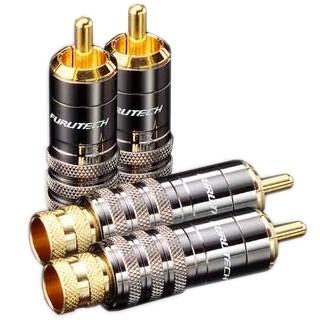 FURUTECH FP-104 (G) Connecteurs RCA plaqué Or Ø 8.3mm (Set x4)