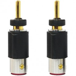 FURUTECH FT-212 (G) Banana Plug Gold Plated Ø 4.2mm (Set x4)