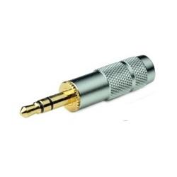 OYAIDE P-3.5G Connecteur Jack 3.5mm stéréo plaqué Or Ø 6mm(Unité)