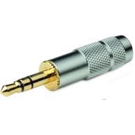 OYAIDE P-3.5G Connecteur Jack 3.5mm stéréo plaqué Or Ø 6mm (Unité)